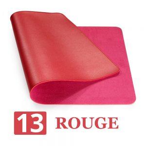 grand tapis de souris ergonomique rouge