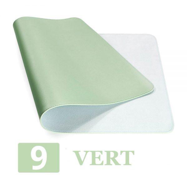 grand tapis de souris ergonomique vert